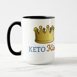 Funny Keto King Crown Mug