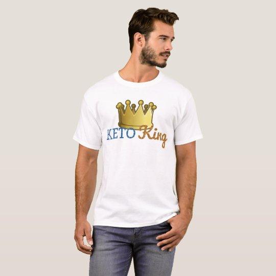 Funny Keto King Crown T-Shirt