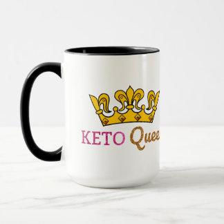 Funny Keto Queen Crown Mug