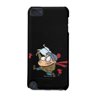 funny kid steals fake santas beard iPod touch (5th generation) case