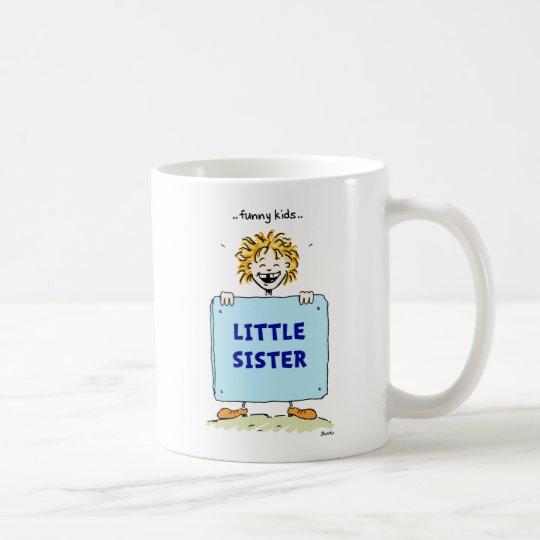 Funny Kids Little Sister Mug