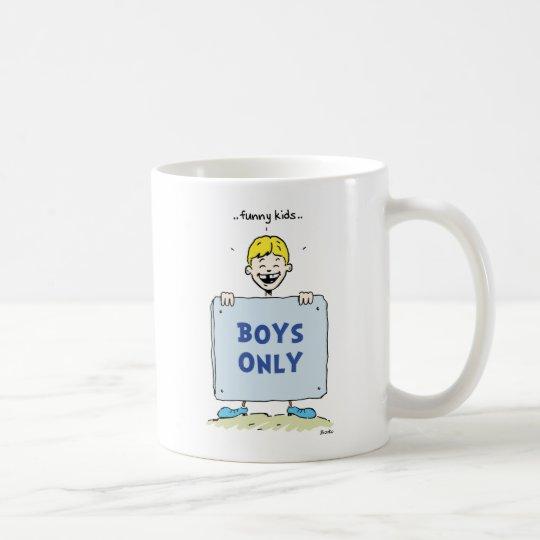 Funny Kids Positive Boys Quotes Mug