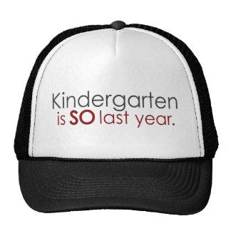 Funny Kindergarten Grad Hat