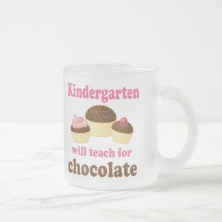 Funny Kindergarten Teacher Frosted Mug