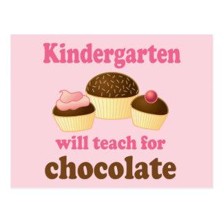 Funny Kindergarten Teacher Postcard