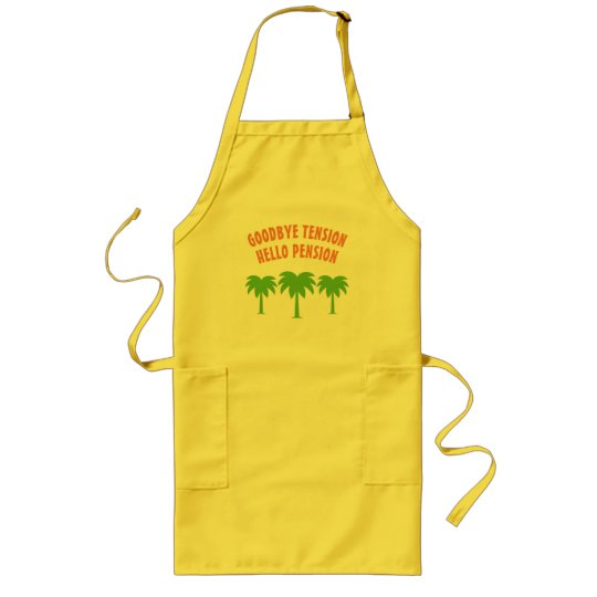 Funny kitchen bbq apron for retired men and