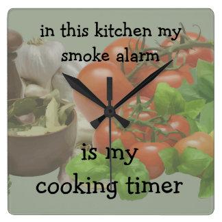 Funny Kitchen Wall Decor Clock