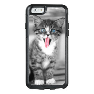 Funny Kitten With Tongue Hanging Out OtterBox iPhone 6/6s Case