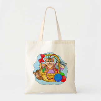 Funny kittens tote bag