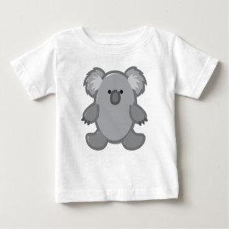 Funny Koala on White Baby T-Shirt