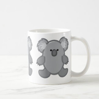 Funny Koala on White Coffee Mug