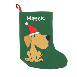 Funny Labrador Retriever Christmas Stocking