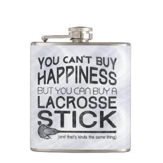 Funny Lacrosse Design Hip Flask