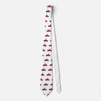 Funny Ladybug Driving Convertible Tie