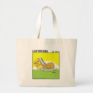 Funny Laftovers Roast Turkey Dressing Cartoon Large Tote Bag