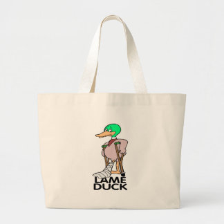 Funny Lame Duck T-shirts Gifts Jumbo Tote Bag