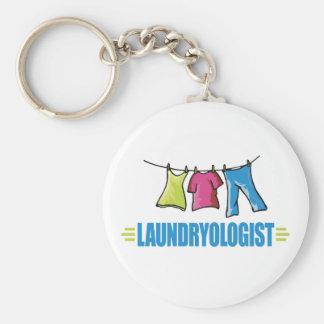 Funny Laundry Key Ring