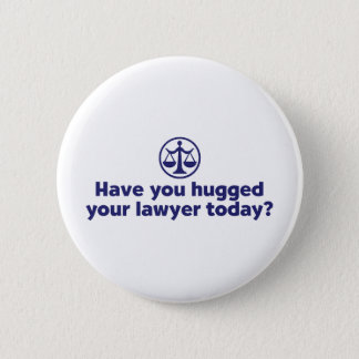 Funny Lawyer 6 Cm Round Badge