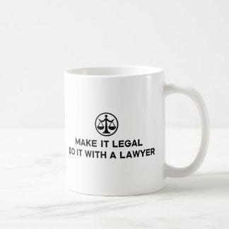 Funny Lawyer Coffee Mug