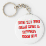 Funny Lawyer Pick-Up Line Basic Round Button Key Ring
