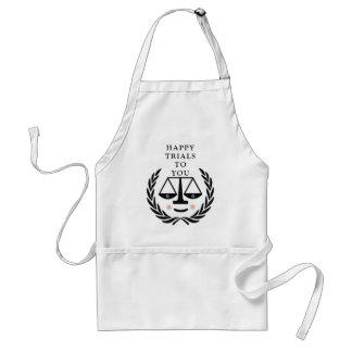 Funny Lawyer Standard Apron
