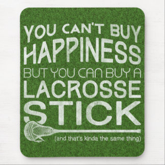 Funny LAX Lacrosse Design Mouse Pad