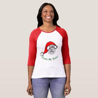 Funny Leave Me Alone Bah Humbug T-Shirt