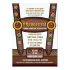 Funny Lederhosen Oktoberfest Party Invitations