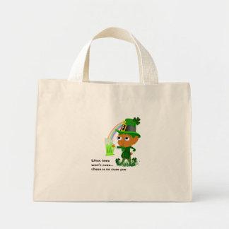 Funny Leprechaun Beer Bag
