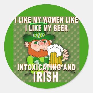 Funny Leprechaun Meme for St Patricks Day Sticker