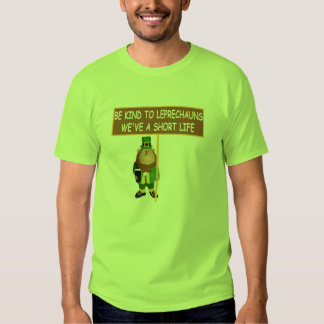 Funny Leprechaun T-shirts