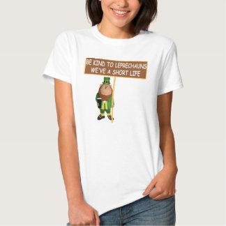 Funny Leprechaun Tee Shirts