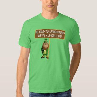 Funny leprechaun tshirt