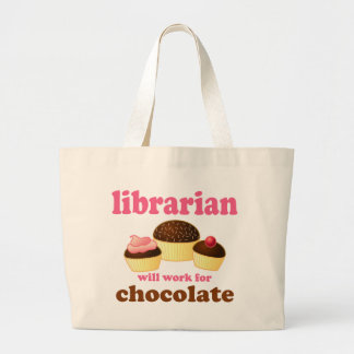 Funny Librarian Tote Bag