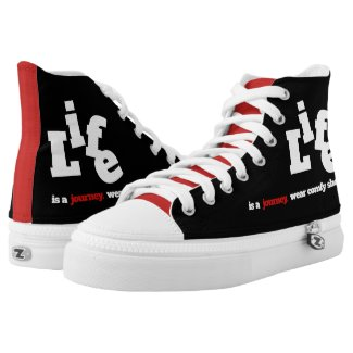 Funny Life is a Journey ... High Tops