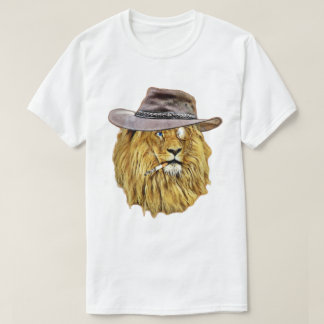 Funny Lion Wildcat T-Shirt