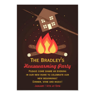 Funny Literal Housewarming Party Invitations