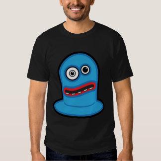 Funny Little Blue Blob Monster T-shirt