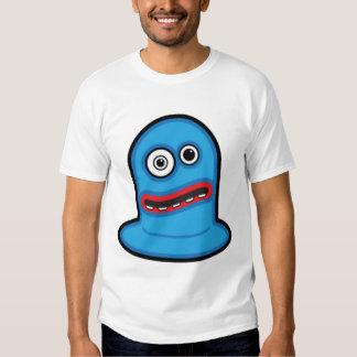 Funny Little Blue Blob Monster Tee Shirt