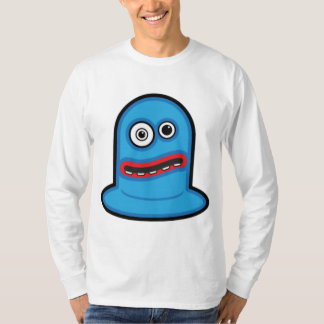Funny Little Blue Blob Monster Tshirts
