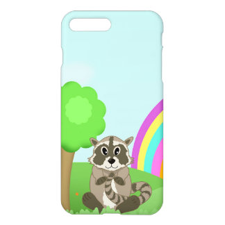 Funny Little Cartoon Animal Ricardo Raccoon iPhone 7 Plus Case