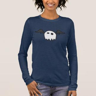 Funny Little Ghost Bat Monster Long Sleeve T-Shirt