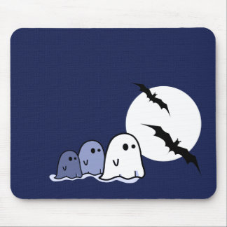 Funny Little Ghosts. Halloween Gift Mousepads