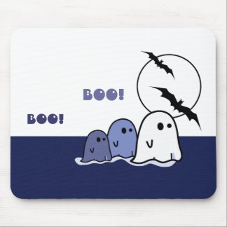 Funny Little Ghosts Halloween Gift Mousepads