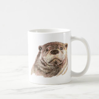 Funny Little Otter, Cute Animal Nature Coffee Mug