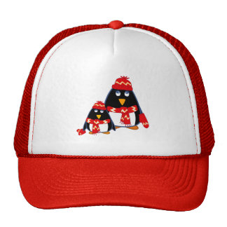 Funny Little Penguins Christmas Gift Hats