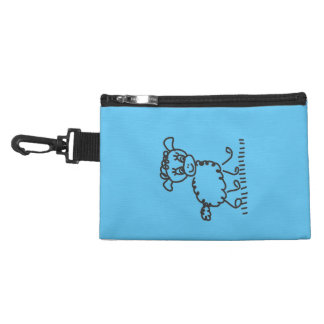 Funny Little Sheep - tie-clip on cultural bag Accessories Bags