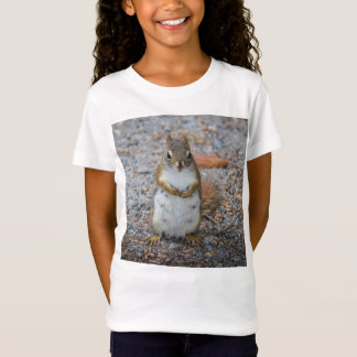 Funny Little Standing Squirrel T-Shirt