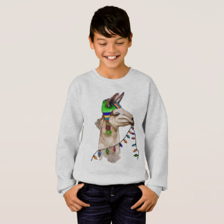 funny llama sweatshirt