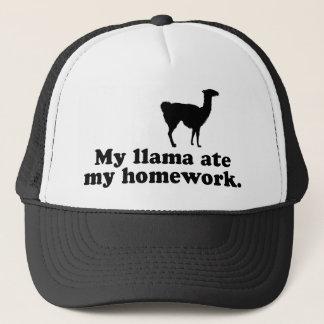 Funny Llama Trucker Hat
